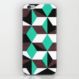 rhombus mania iPhone Skin