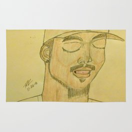 Chance the rapper by Double R Rug