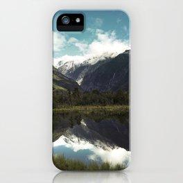 (Franz Josef Glacier) Where the snow melts iPhone Case