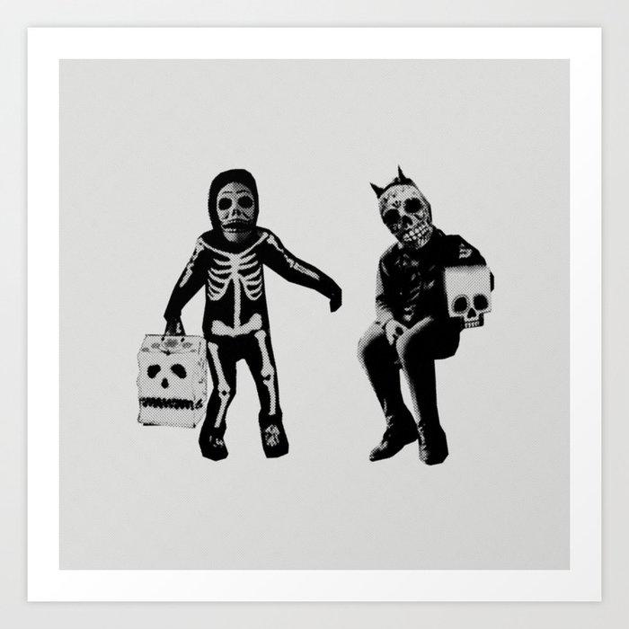 CALAVERITA / HALLOWEEN Art Print