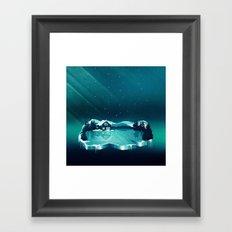 Frozen Magic Framed Art Print