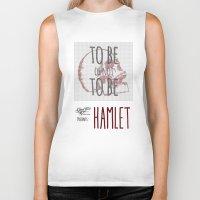 hamlet Biker Tanks featuring Hamlet by Typo Negative