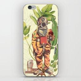 Part 42 Deep sea Sacred Heart Diver iPhone Skin