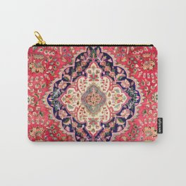 Tabriz Antique Persian Rug Print Carry-All Pouch