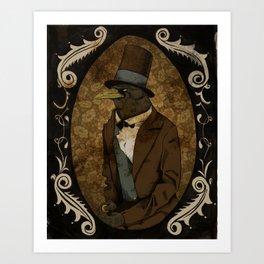 Crowbraham Lincoln Art Print