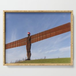 Angel of the North 3 Serving Tray