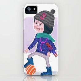 Birthday Girl 3 iPhone Case