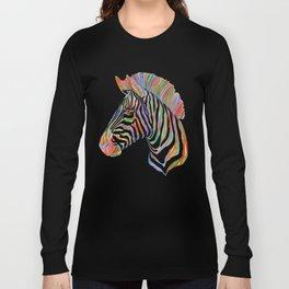 Fantasy Zebra Long Sleeve T-shirt