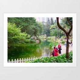 Park life 2 Art Print