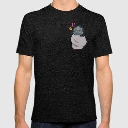 Pocket tank scientist T-shirt