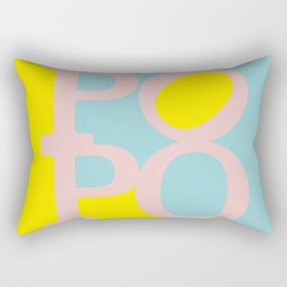 POPO #2 - german 4 BOTTY, sexy bottom Rectangular Pillow
