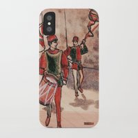 drum iPhone & iPod Cases featuring Drum by Sarah Larguier