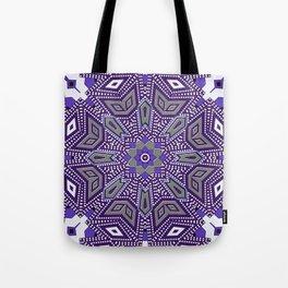 Indigo Power Geometrica Tote Bag