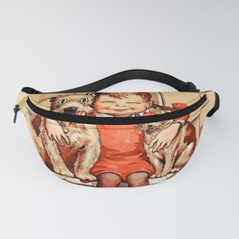 Vintage Be Kind To Animals - Girl Fanny Pack