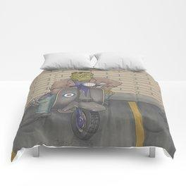 Frankenstein Scooter Comforters