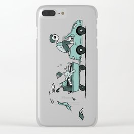 Vroom Vroom, I'm an Adult! Clear iPhone Case