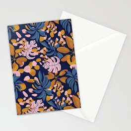 Fiery Fall Leaves Stationery Cards