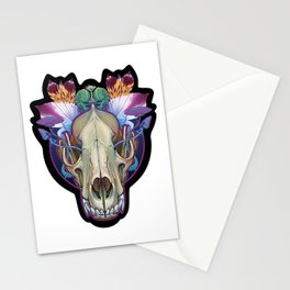 Wolf Skull Stationery Cards