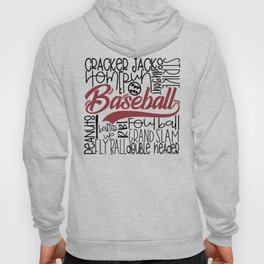 Baseball Typo Hoody
