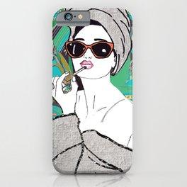 Lip gloss iPhone Case