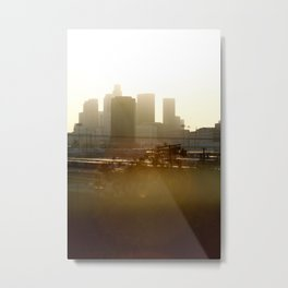 LA sunshine Metal Print