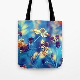 September Flowers Tote Bag