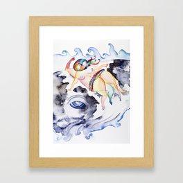 Swimmer, Too Framed Art Print