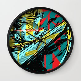 Metal Gear Rising Wall Clock