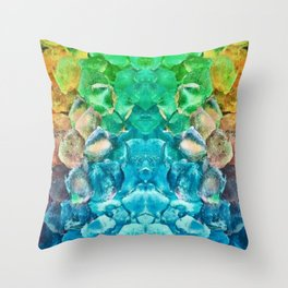 Awesome Lava Rock Explosion Throw Pillow