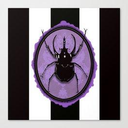 Juicy Beetle PURPLE Canvas Print