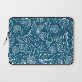 Sea Life - Marine Blue Laptop Sleeve