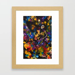 The Night Witch Wind Framed Art Print