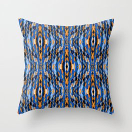 Night on the town.... Throw Pillow