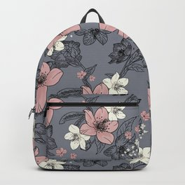 Gray nature Backpack