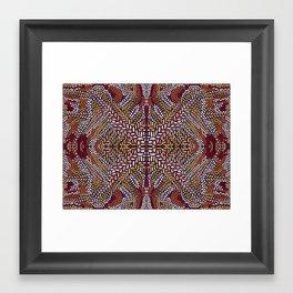 One Fall Framed Art Print