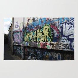 Hare Row - Graffiti  Rug