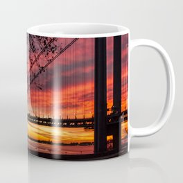 Sunrise at the Bridge Coffee Mug