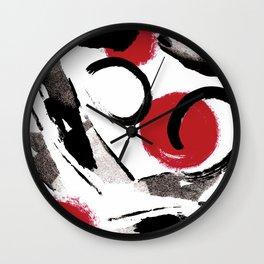 Expressin flow Wall Clock