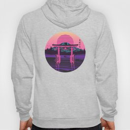 Retro Japanese Torii Gate Hoody