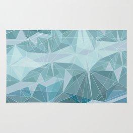 Winter geometric style - minimalist Rug