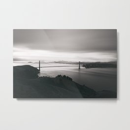 Good morning, San Francisco! Metal Print