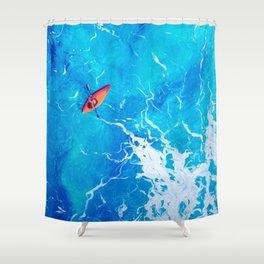 Kayak-Itti-Yak Shower Curtain