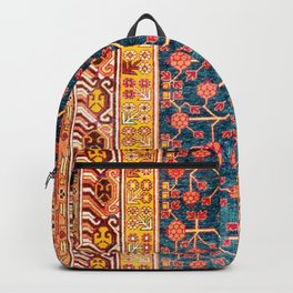 Khotan  Antique East Turkestan Rug Print Backpack