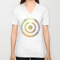 gradient V-neck T-shirts featuring Gradient Strings by rollerpimp