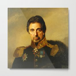 Al Pacino -replaceface Metal Print