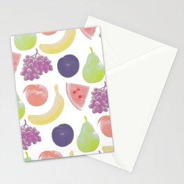 fruit soup Stationery Cards
