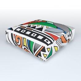 Abstract Dream Outdoor Floor Cushion