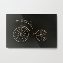 old fashioned bicycle. Metal Print