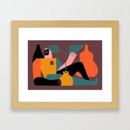 Solitud Framed Art Print
