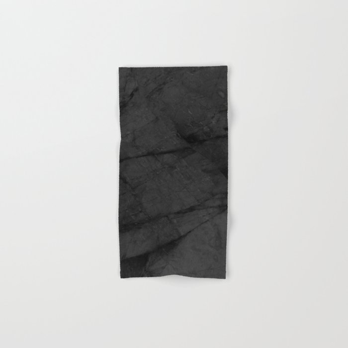 Dark Grey Marble Hand & Bath Towel